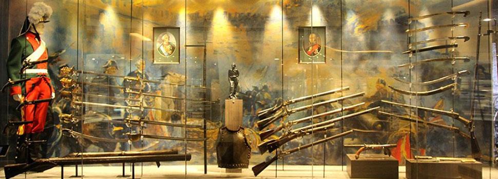 Выставка «Сила русского оружия»
